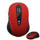Мышь Bluetooth беспроводная. Блютуз мышка на батарейках, фото 9