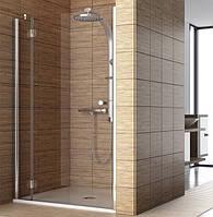 Современная душевая зона: дверь для монтажа с боковой стенкой или в нишу