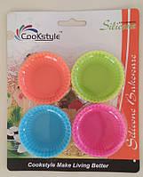 """Набір силіконових форм для випічки кексів """"Кошик"""" SC 15-12 арт. 822-6-1"""