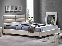 Кровать Джустина беж-карамельный  (Domini TM)