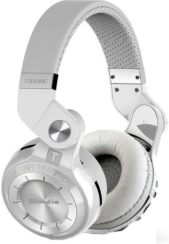 Наушники Bluedio T2 Hurricane White (T2W)