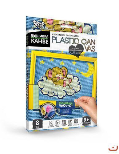 """Вышивка на пластиковой канве """"PLASTIC CANVAS: Мышонок"""""""