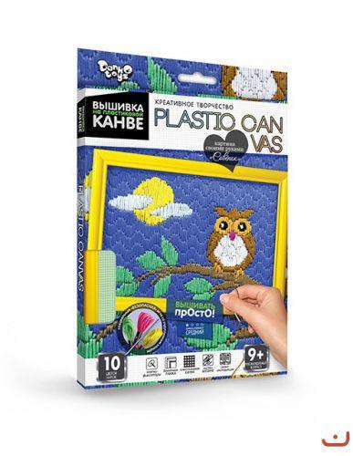 """Вышивка на пластиковой канве """"PLASTIC CANVAS: Совёнок"""""""