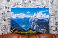 """Картина на холсте """"Баварские Альпы. Германия. Природа"""". 60х40 см."""