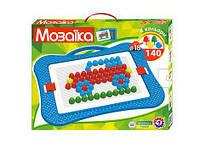 Мозаика десткая, игрушка (140 элементов)