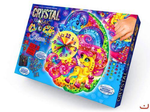 "Набор для творчества ""Crystal Mosaic Clock"", ""Пони"""