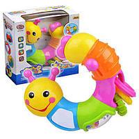 """Развивающая игрушка для малышей """"Гусеница"""""""