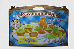 Детский кухонный набор, 38 предметов