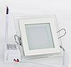 Светодиодный светильник в стекле 12Вт 160x160мм 3200К SL12WWKG