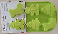 Силиконовая форма для выпечки кексов SC-1329  арт. 822-6-3