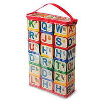 "Кубики ""English Alphabet"", 18 шт"