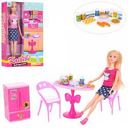 "Кукла Барби с холодильником ""Kaibibi"""