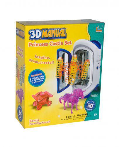 "Набор для творчества  ""3D Manual Princess castle Set"""