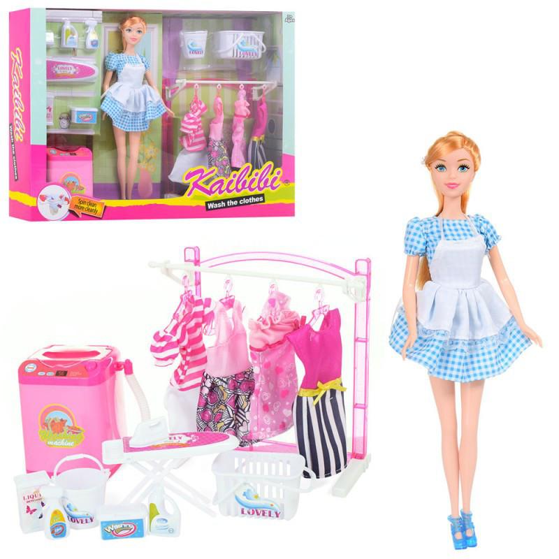 "Кукла с набором для стирки ""Kaibibi"""