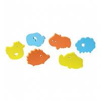 Пазлы мягкие для ванной 6 штук Babyono (мальчик), фото 1