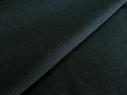 Ткань оптимус трикотаж, черный