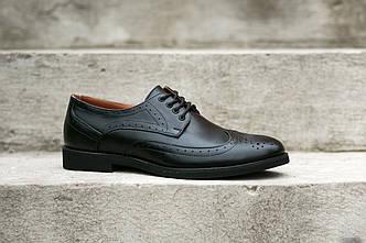 Туфлі броги - взуття стильних чоловіків!