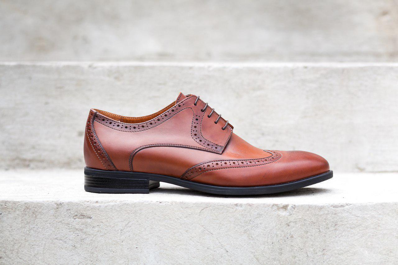 Туфлі броги ІКОС IKOS тренд нового сезону! - Магазин чоловічого взуття Bims  в Тернополе a48fcb1a122d2