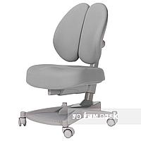 Детское ортопедическое компьютерное кресло FunDesk Contento, серое