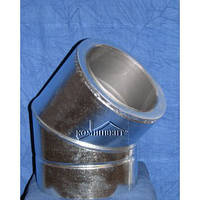 Колено термо 45 для саун Ф120/220 к/оц