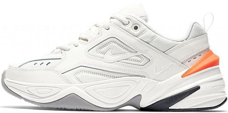 "Мужские кроссовки в стиле Nike M2K Tekno ""White/Black/Orange/Gray"""