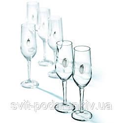 Бокалы для шампанского 6 шт Chinelli