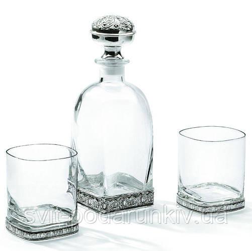 Набор для виски штоф и 2 бокала