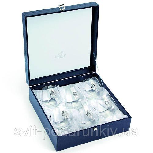 Набор бокалов для виски 6 шт silver