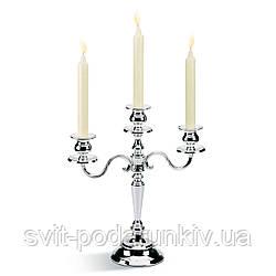Подсвечник канделябр на 3 свечи Chinelli