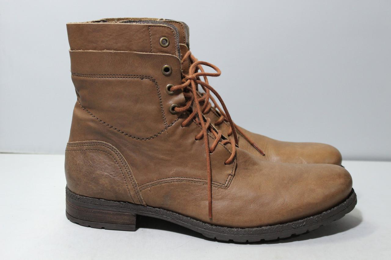 Мужские кожаные ботинки Minelli