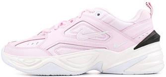 """Женские кроссовки в стиле Nike M2K Tekno """"Pink/White/Black"""""""