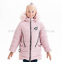 "Зимняя куртка для девочки ""Кристина"", Зима 2019 года, фото 1"
