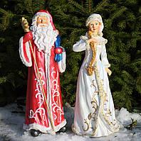 Дед Мороз и Снегурочка комлект, фото 1