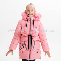 "Зимняя куртка для девочки ""Кети"", Зима 2019 года, фото 1"