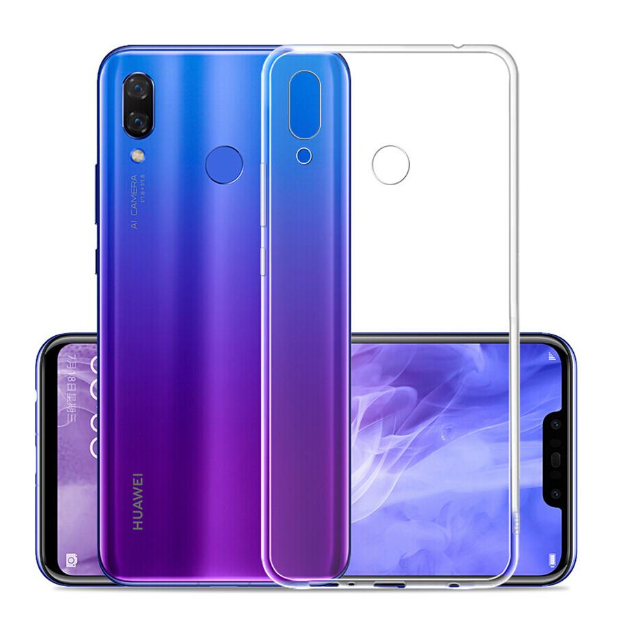 Ультратонкий 0,3 мм чехол для Huawei P Smart Plus прозрачный