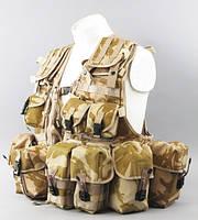 Жилет разгрузочный Британия vest tactical load carrying desert dpm