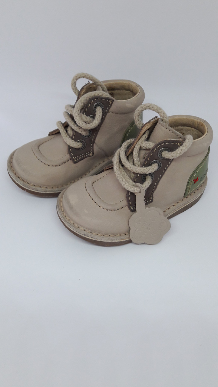 Ботинки кожаные осенние Kickers