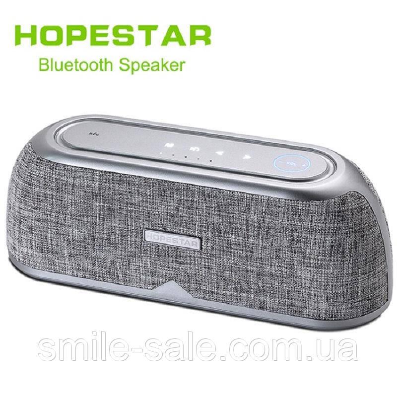 Портативная колонка Hopestar A4  Silver 25W! NFC, Bluetooth Оригинал!