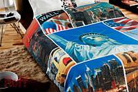 Плед флисовый Cool FREEDOM Свобода 150х200 Нью Йорк