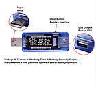 USB тестер текущего тока и напряжения с цифровым дисплеем, фото 3