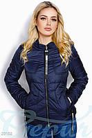 Куртка жіноча дута з плащової тканини (4 кольори) - Синій ВШ/-914, фото 1