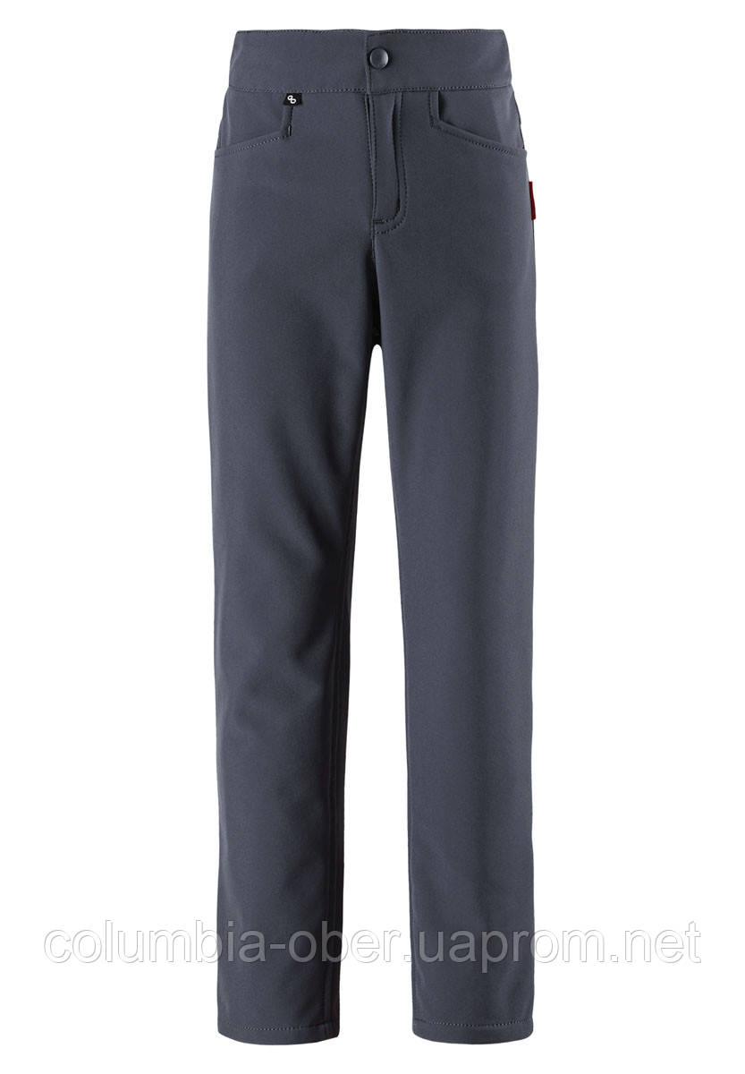Демисезонные брюки для девочки Softshell Reima IDEA 532108-9780. Размер 110-164.