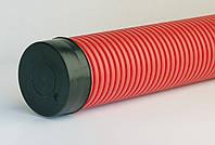 Двустенная гибкая электромонтажная труба диаметр 63мм