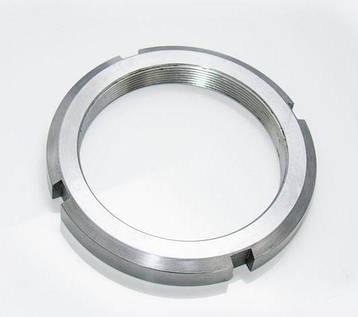 Гайка М55 (КМ 11) стальная круглая шлицевая DIN 981, фото 2