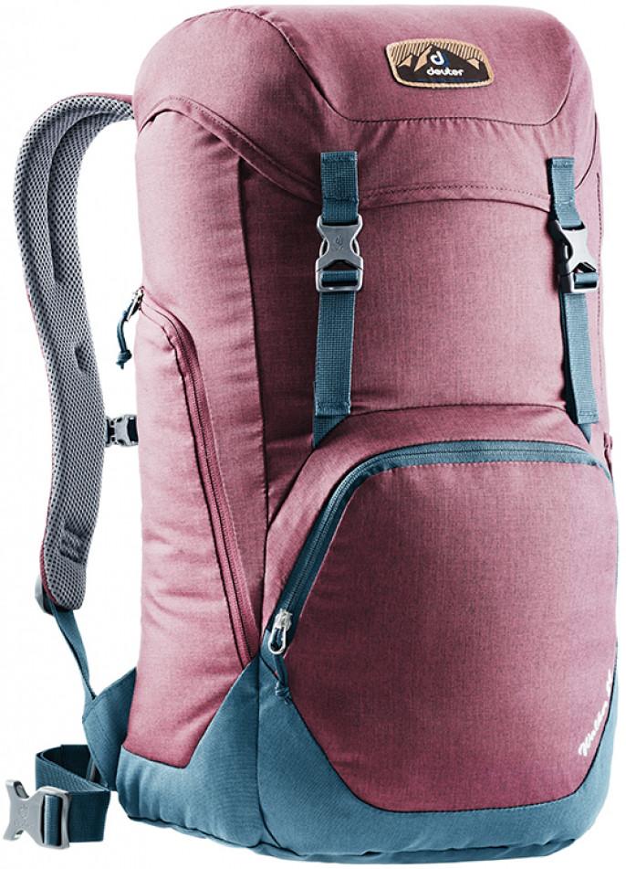Купить Туристический рюкзак Deuter Walker 24 3810717 5323, 24л. красный