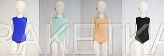 Купальник для гимнастики и танцев без рукавов (цвет в ассортименте)