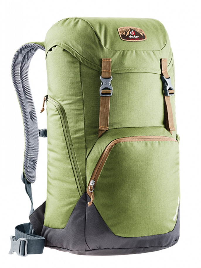 Купить Спортивный рюкзак Deuter Walker 24 3810717 2443, 24л. зеленый