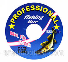 Волосінь Professional 0.25 мм, 100м