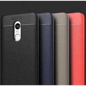 """TPU чехол """"Leather grain"""" для Xiaomi redmi 5 blue"""