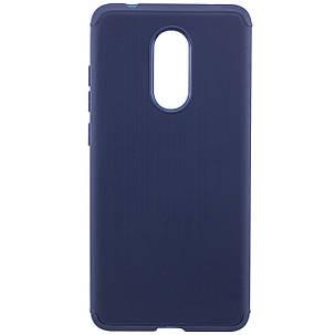 TPU чехол Metal для Xiaomi Redmi 5 (Синий), фото 2
